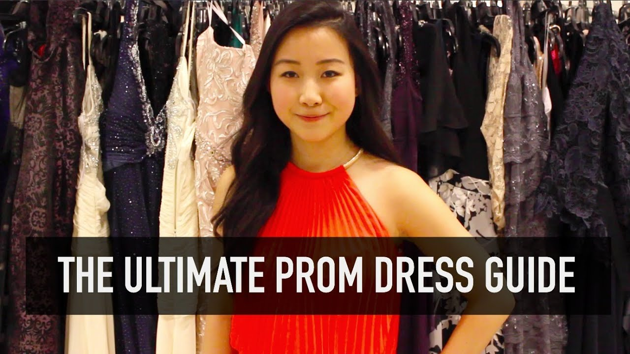 The Ultimate Prom Dress Shopping Guide