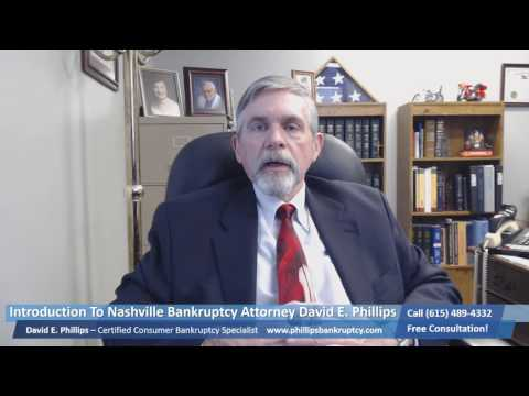 Emergency Personal Consumer Bankruptcy Attorney Lawyer Nashville Donelson Davidson County Tennessee