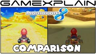 Mario Kart 8: Cheese Land Head-to-Head Comparison (GBA vs. Wii U)
