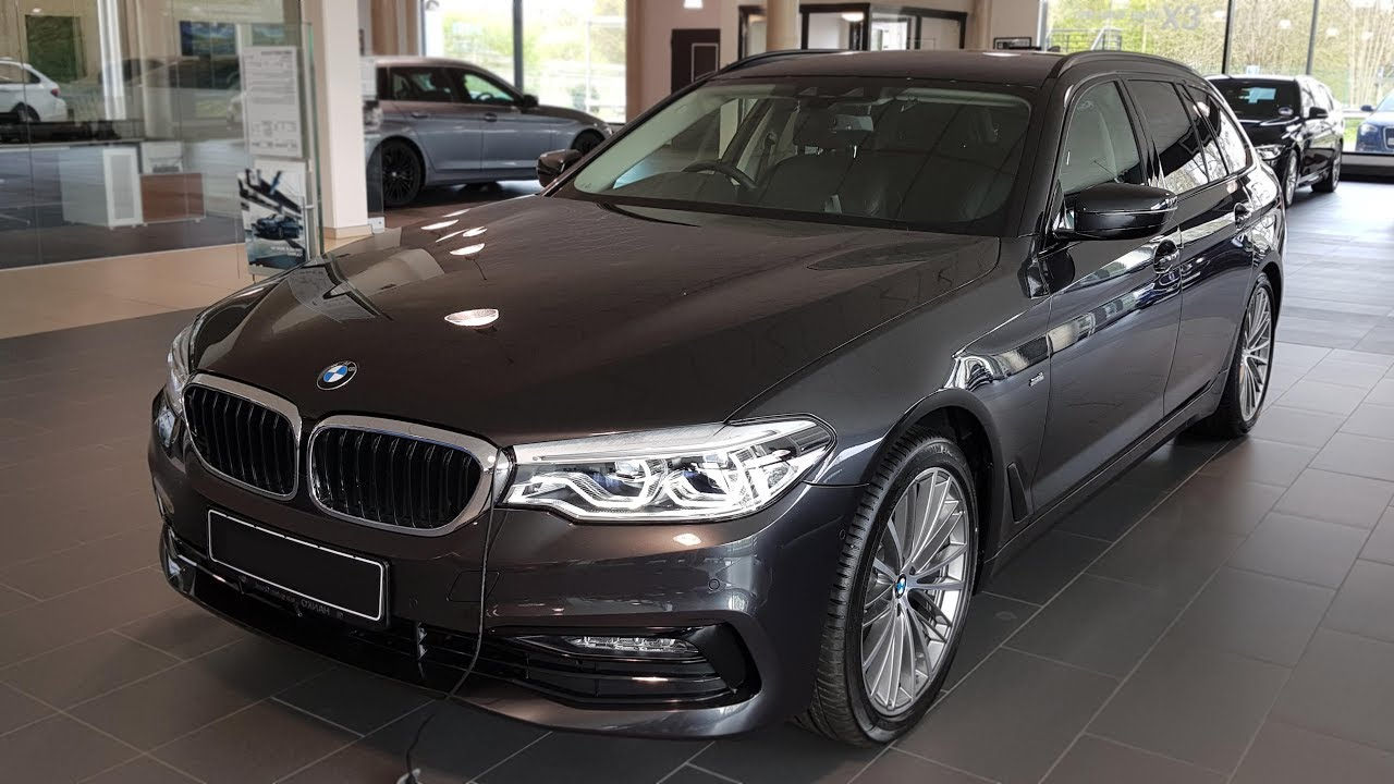 2018 Bmw 520d Touring Sport Line Bmwview Youtube