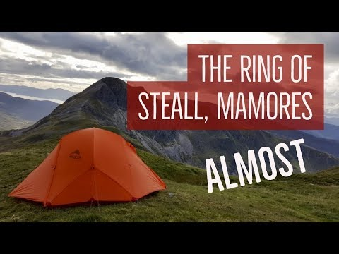 Ring of Steall Wild Camp