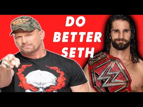 Stone Cold Wants SETH ROLLINS to TURN it UP !!  ( Becky Lynch ) #WWE