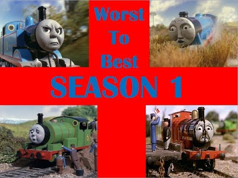 Thomas & Friends: Season 1 Episodes Worst To Best