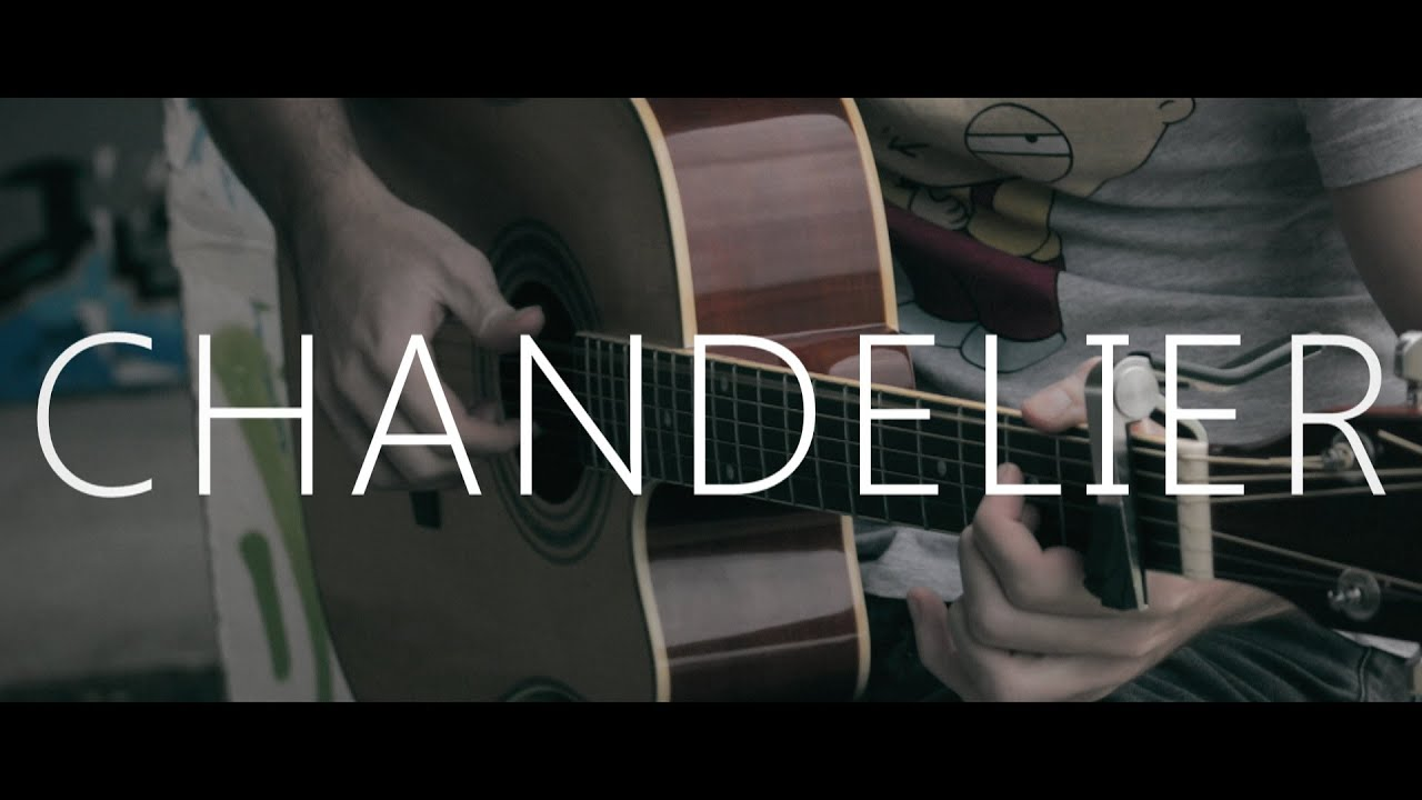 Chandelier - Sia (fingerstyle guitar cover by Peter Gergely) - YouTube