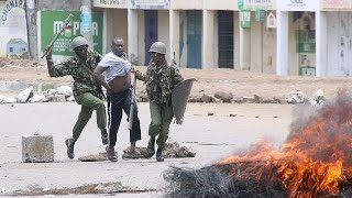 Kenya police shoot dead two during opposition protest
