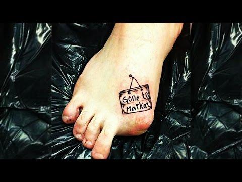 10 Tattoos - Die unglaublichen Humor beweisen!