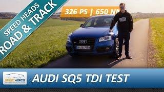 Power-Diesel: Audi SQ5 TDI Test - Fahrbericht - Review - Speed Heads