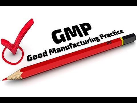 Good Manufacturing Practices (cGMP)