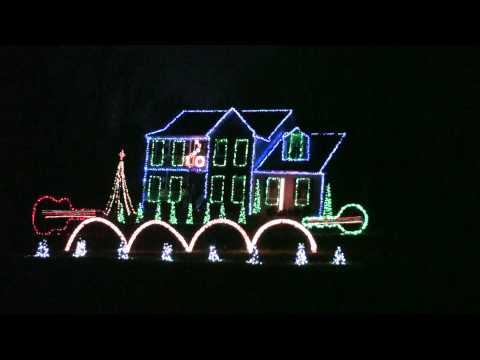 2012 Christmas Eve Sarajevo TSO Duane Brown Family Animated Christmas Light Show