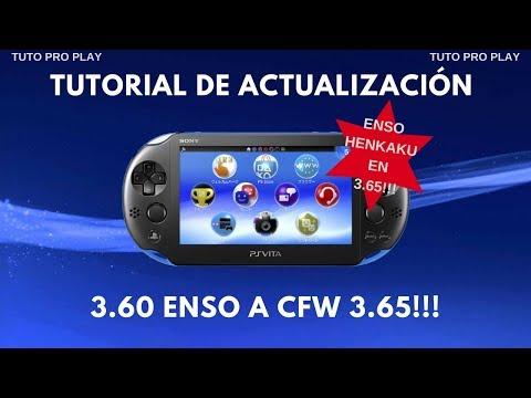 TUTORIAL ACTUALIZACIÓN DE 3.60 HENKAKU A CFW 3.65 ENSO