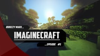 ImagineCraft | Episode 1 : Terraforming & Base !