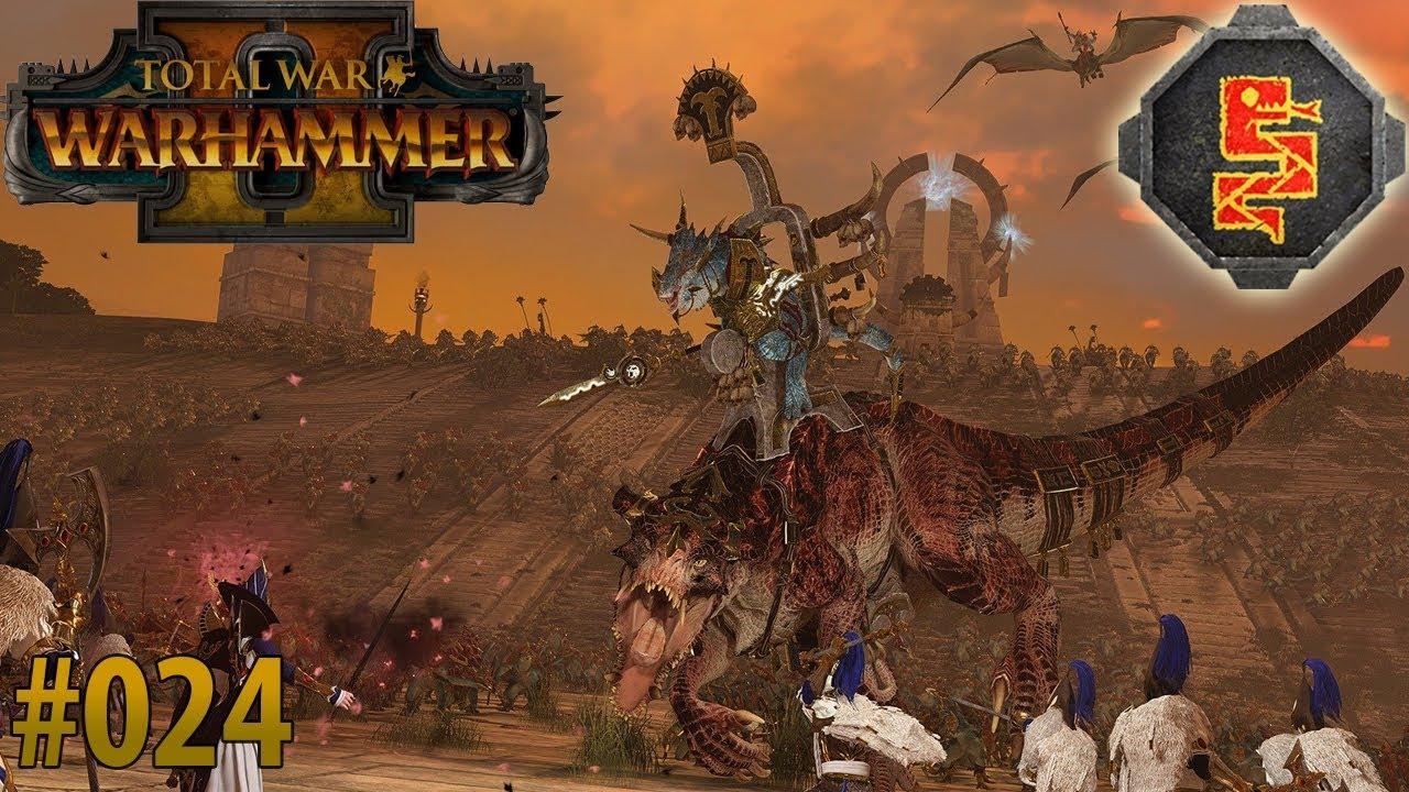 Total War: Warhammer II 💎 Let's Play #24 💎 Echsenmenschen 💎Kult des  Sotek 💎