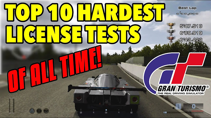 top 10 hardest license tests in gran turismo history