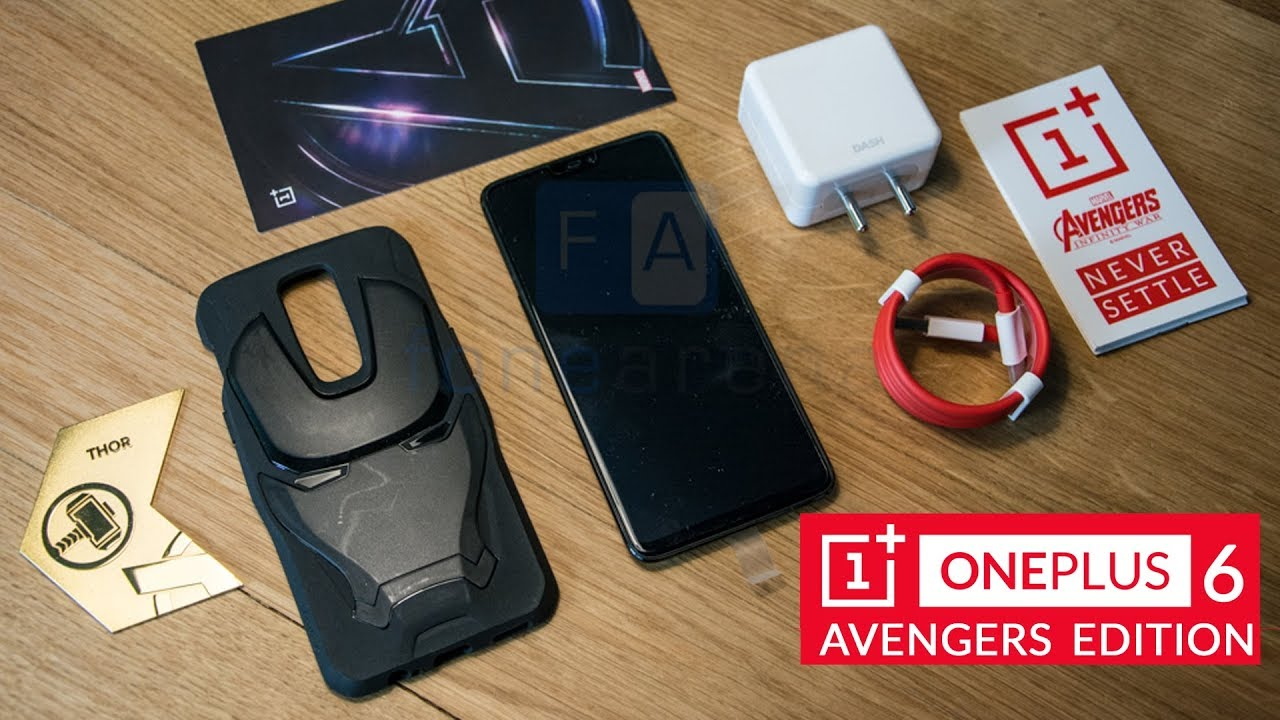 OnePlus 6 Avengers Edition Unboxing - 8GB RAM and 256GB storage