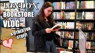 COME BOOK SHOPPING WITH ME | London Vlog