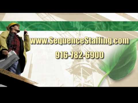 Sequence Staffing -  Job Seeker, Staffing Services Video