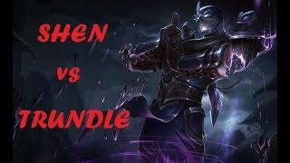¿Seguro que eres el rey de los Trol? OTP Shen vs Trundle Top