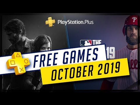 PlayStation Plus October 2019 Free PS4 Games - The Last of Us Remastered & MLB The Show 19