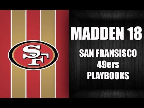 MADDEN 18 49ERS PLAYBOOKS