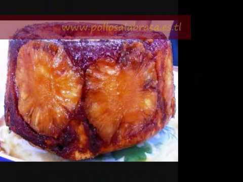 receta keke de pina