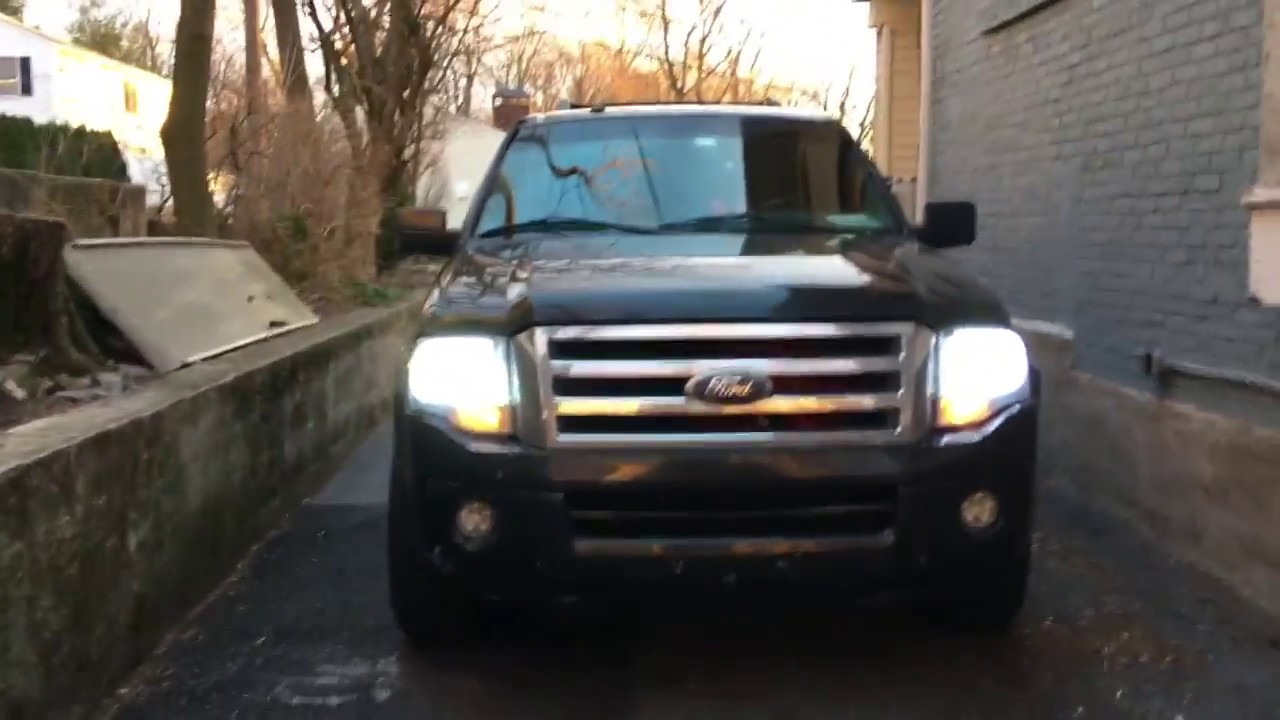 2007 Expedition Led Headlight Conversion Upgrade