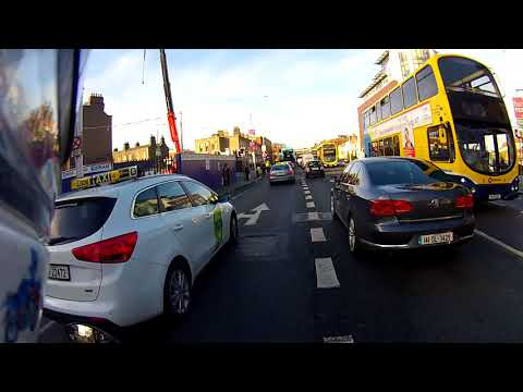 Whinging about traffic in Dublin city centre