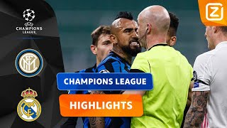 VIDAL VERLIEST DE ZELFCONTROLE! 😠 | Inter vs Real Madrid | Champions League 2020/21 | Samenvatting