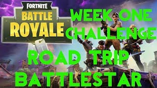 Fortnite Battle Royale | Season 5 Week 1 | Road Trip Secret Battle Star Location Guide