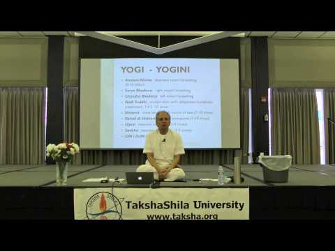 Complementary Practices of Yoga Therapy, Pranayam Practice by Dilip Sarkar, MD, FACS, CAP