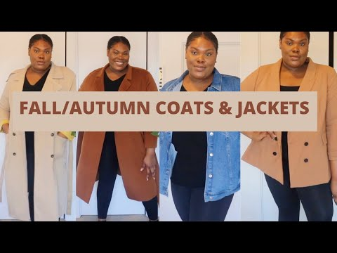 ESSENTIAL FALL/AUTUMN JACKETS AND COATS 2020 | PLUS SIZE FALL FASHION 2020