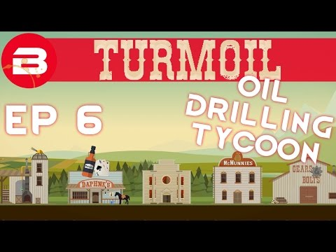 Turmoil EP 6 - Stocks & Shares (Gameplay/Let's Play)