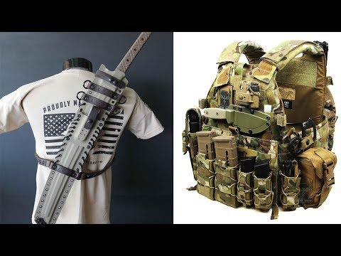 Thumbnail: 10 AMAZING TACTICAL GEAR AND SURVIVAL GADGETS
