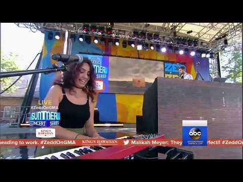 Zedd & Alessia Cara - Stay (Live at Good Morning America)
