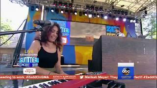 Zedd Alessia Cara Stay Live at Good Morning America