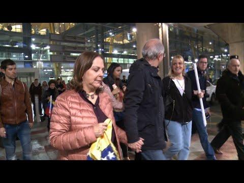 AFP: Arrivée du maire de Caracas à Madrid après avoir fui son pays