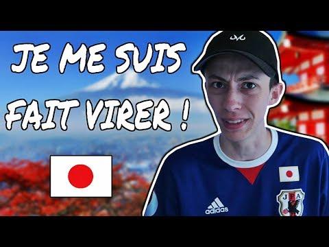 VIRÉ DE MON TRAVAIL AU JAPON !