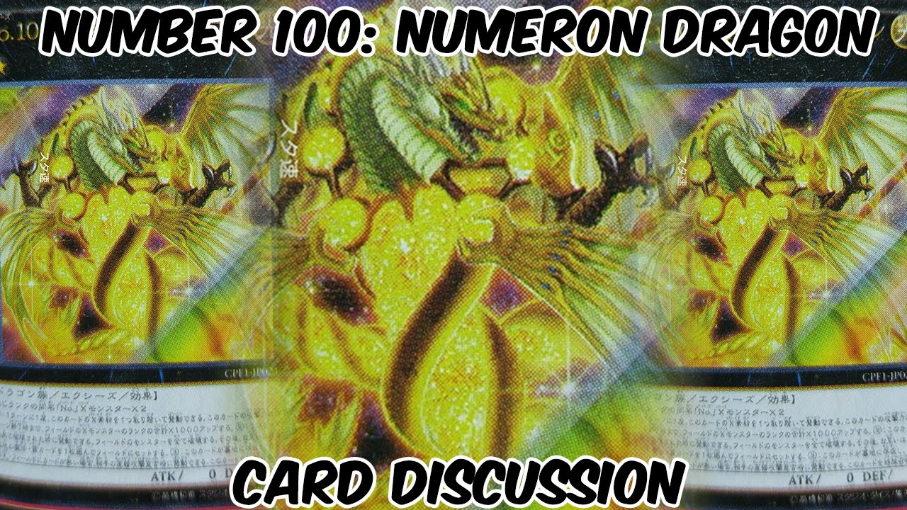 Number 100 Numeron Dragon Discussion - HOW DISAPPOINTING ...