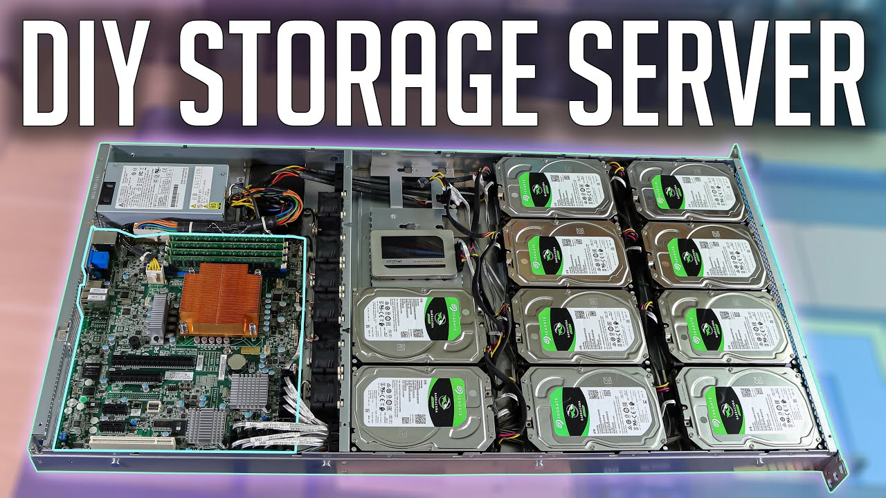 Download Budget Storage Server 2021! | 80TB NAS