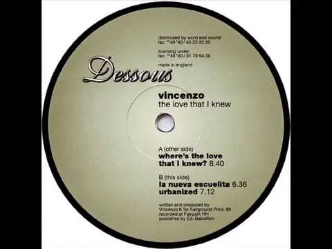 Vincenzo  -  Where's The Love That I Knew?
