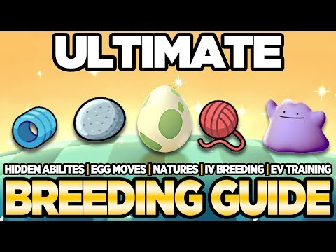 ULTIMATE Breeding Guide IVs, EVs, Natures, Egg Moves Pokemon