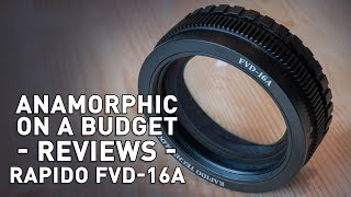 Rapido FVD-16A - Single Focus Solution for Anamorphic