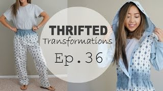 Thrifted Transformations | Ep. 36 (DIY Hooded Jacket)