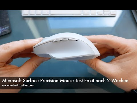 Microsoft Surface Precision Mouse Test Fazit nach 2 Wochen