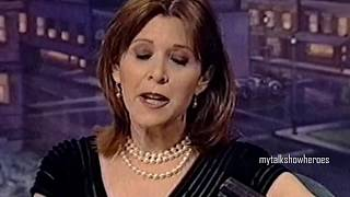 CARRIE FISHER - 'DELUSIONS of GRANDMA' on 'LENO'