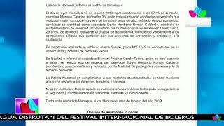 Policía Nacional informa sobre incidente que involucra al sacerdote Edwin Heriberto Román Calderón
