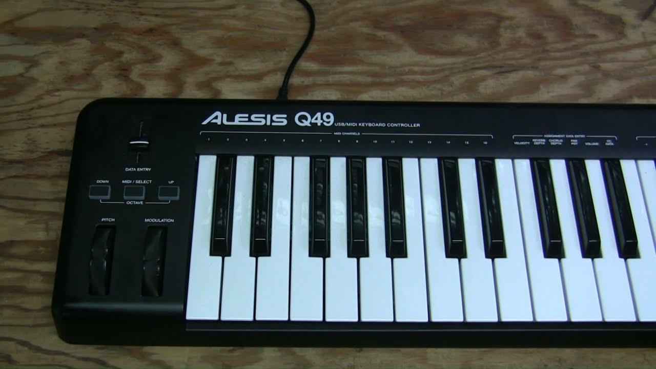 18 alesis q49 keyboard repair youtube for How to repair yamaha keyboard