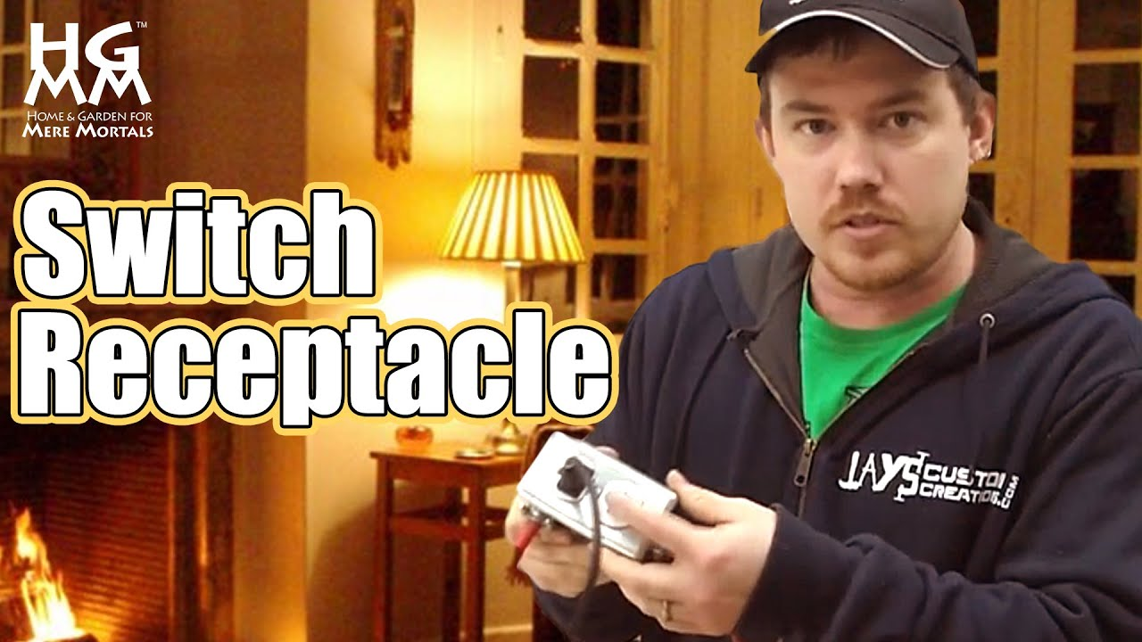 How To Wire And Install A Switch Receptacle
