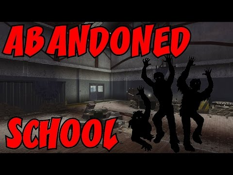 The ABANDONED SCHOOL For Dirty Nazi Zombies! ☆ (CoD Custom Zombies ...