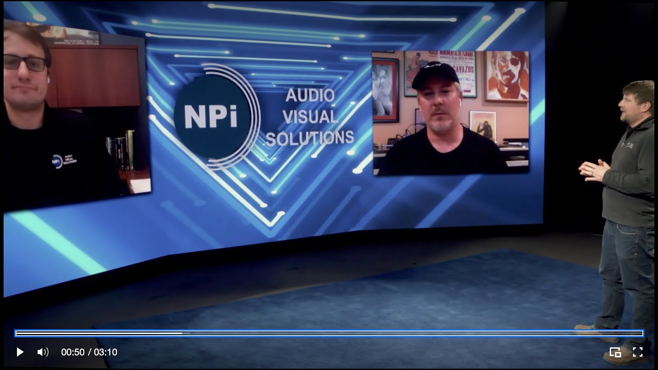 NPi Virtual Event Demo In-Studio