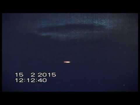 2 Large UFOs.Mother ship captured over  San Louis potosi Mexico 14 02 2015